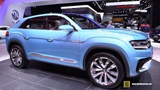 2016 Volkswagen Cross Coupe GTE - Exterior, Interior Walkaround - Debut at 2015 Detroit Auto Show