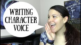 How to Write Character Voice - Part 1