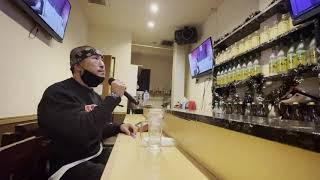 YouTube動画:二人でお酒を//梓みちよ カラオケ  歌 : SHINGO★西成