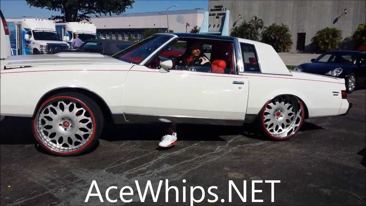 "AceWhips.NET- White Buick Regal on 24"" Grano Forgiatos by ..."