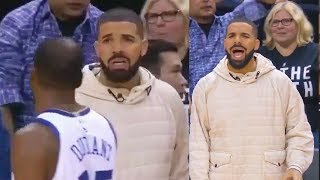 kevin durant shuts up drake for trash talking by hitting game winner vs raptors