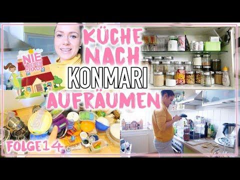 Konmari Methode in der Küche • XXL Organisation • 12 Jahre altes ...