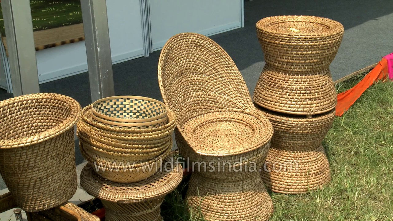 Bamboo Jute And Cane Products From The Northeast States