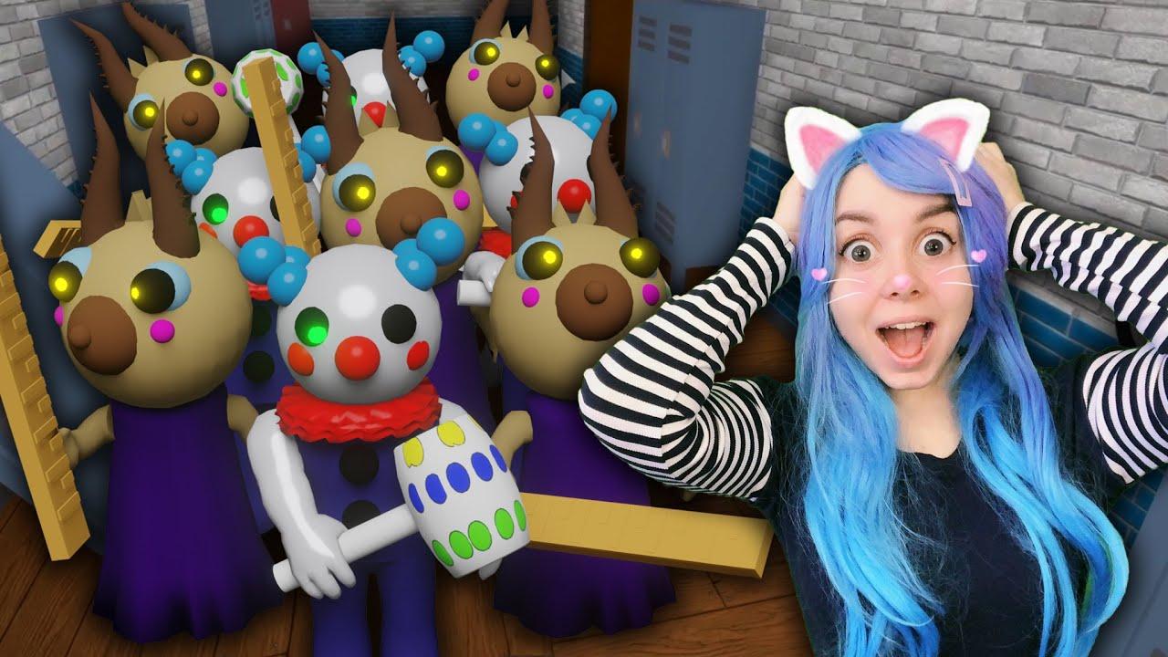 ПРИЗРАЧНЫЕ ПРЕДМЕТЫ ПОДСТАВИЛИ МЕНЯ! Roblox Piggy 10 Bot