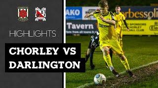 Chorley 3-2 Darlington - Vanarama National League North - 2018/19