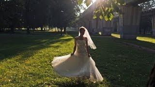 Оригинально поздравление от невесты на свадьбу - красиво спела