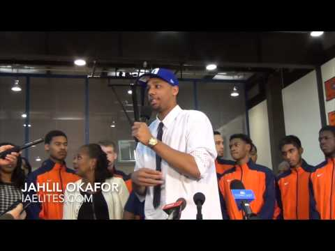 Jahlil Okafor Talks Coach K and Duke - YouTube