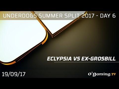 Eclypsia vs Ex-GrosBill - Underdogs Summer Split 2017 - Day 6 - League of Legends