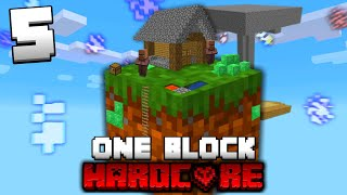 Minecraft One Block Skyblock, but it's HARDCORE! (#5)