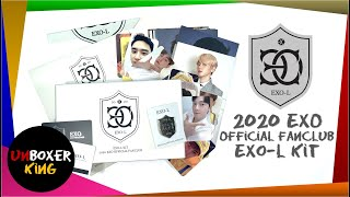 2020 EXO 엑소 Official Fanclub EXO-L Ace Welcome Kit ️ Unboxin…