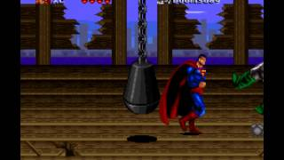 The Death and Return of Superman - Death and Return of Superman, The (SNES) - Superman Vs Doomsday 1st Battle- Vizzed.com - User video
