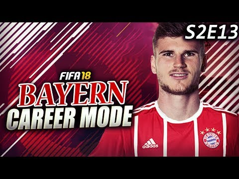 TIMO WERNER & LEWANDOWSKI DESTROY BARCELONA!!!  - FIFA 18 Bayern Career Mode S2E13