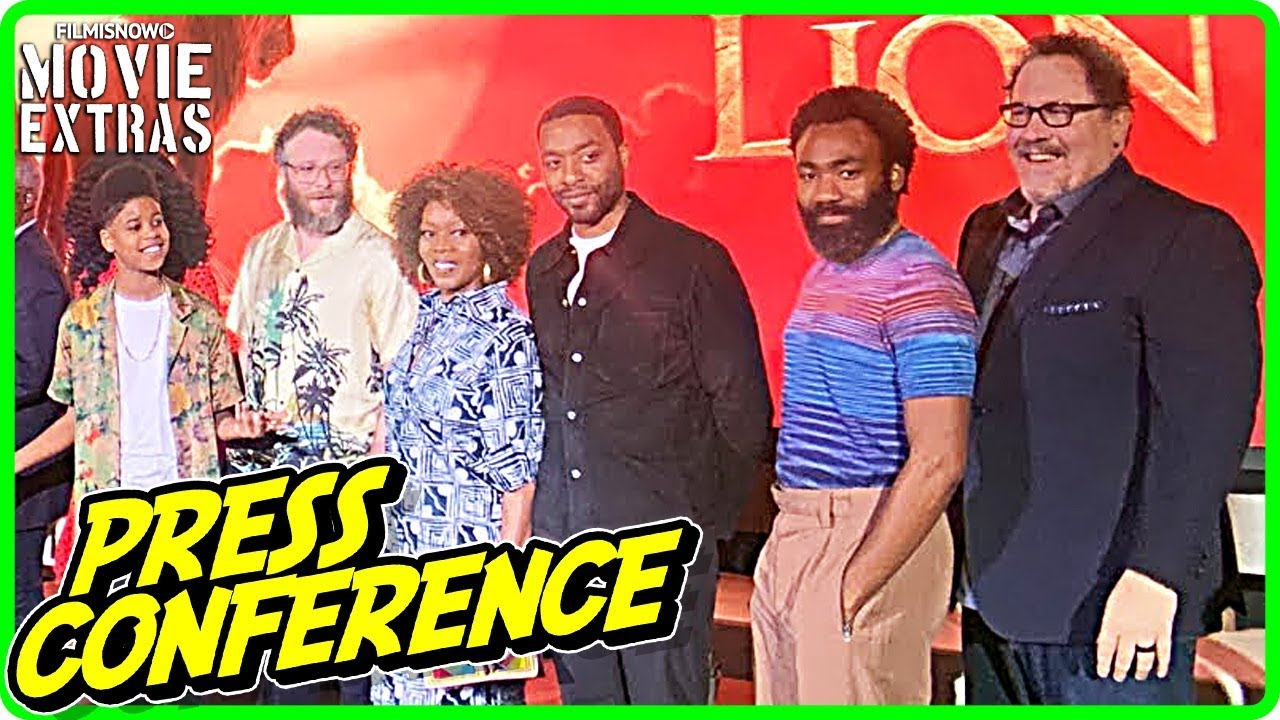 THE LION KING | LA Press Conference