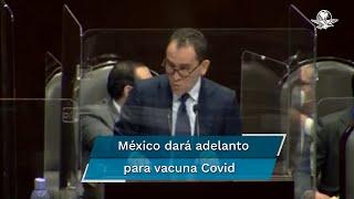 Esta semana se dará un adelanto para la compra de vacunas contra el coronavirus que se pactó como parte del mecanismo multilateral Covax para que se empiece a distribuir en los primeros meses del próximo año, informó el titular de SHCP, Arturo Herrera