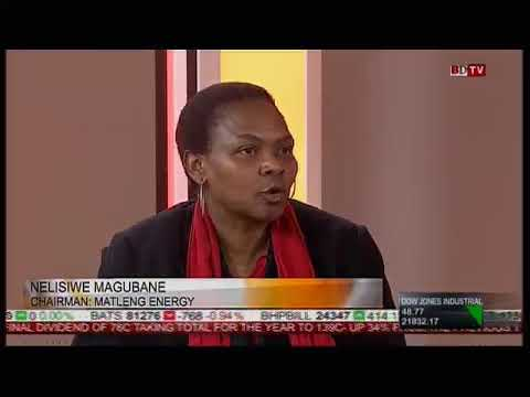 BDTV interview with Ms Magubane (Infrastructure Africa)