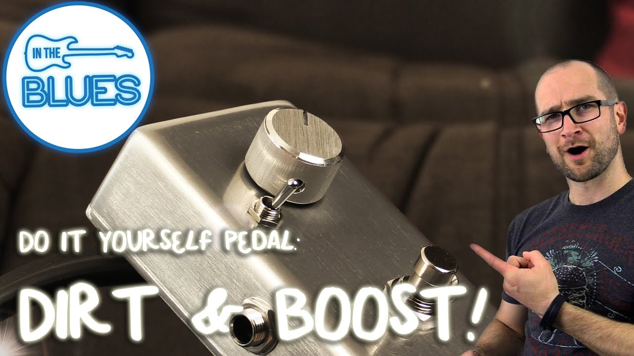 clean boost overdrive shane s diy pedal demo youtube rh youtube com