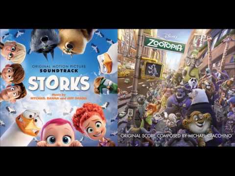 Holdin' Everythin' - Storks/The Lumineers & Zootopia/Shakira Concept Mashup