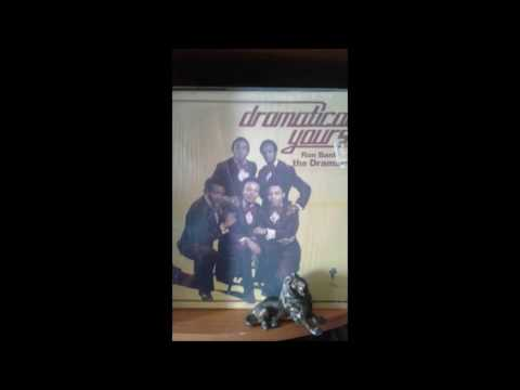 RON BANKS & THE DRAMATICS  ..   it's so hard tryng to get over you  .   LP 1974
