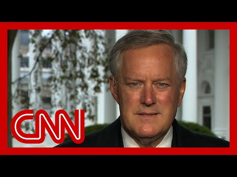 Mark Meadows: We're not going to control the pandemic