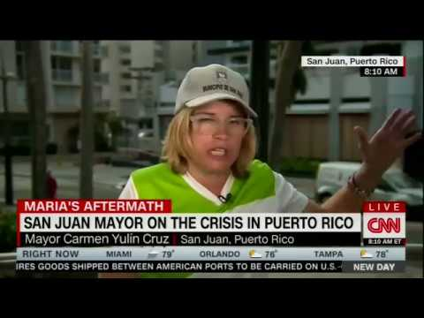 San Juan Mayor Carmen Yulín Cruz on CNN New Day