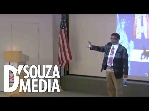 D'Souza absolutely DESTROYS leftist college student