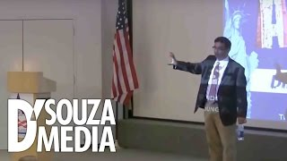 D'Souza absolutely DESTROYS leftist college student thumbnail