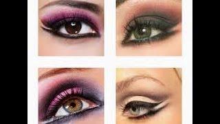 Повседневный макияж для серо зеленых глаз