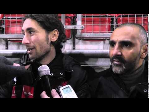 Fabio Liverani post Crawley win (CLIP FROM ORIENT PLAYER)