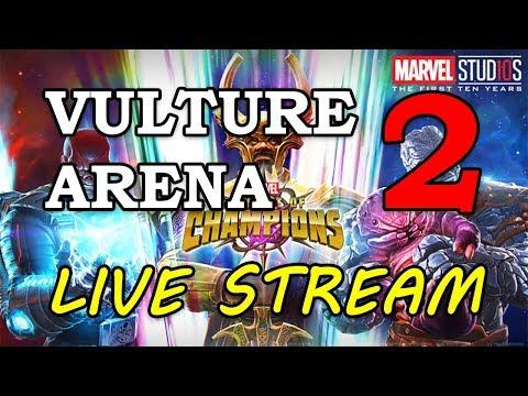 Vulture Arena - Round 2 - Part 2 | Marvel Contest of Champions Live Stream