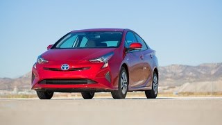 The 2016 Prius is Toyota's most extreme hybrid design yet