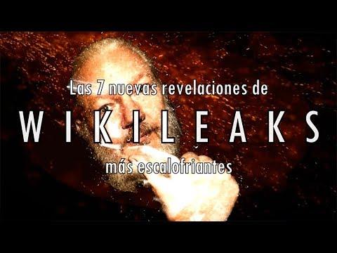Las 7 (nuevas) revelaciones recientes de Wikileaks más escalofriantes