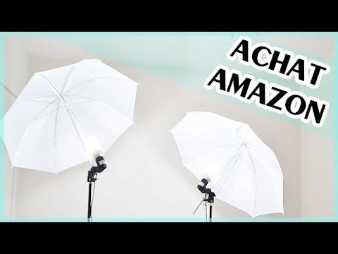 achat de lampe parapluie sur amazon youtube. Black Bedroom Furniture Sets. Home Design Ideas