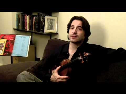 Concert Violinist Philippe Quint tells a story about Dorothy DeLay
