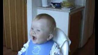baby laughing...funny noises