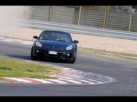 Onboard Porsche Cayman 2.7 vs Cayman R & Audi TTS