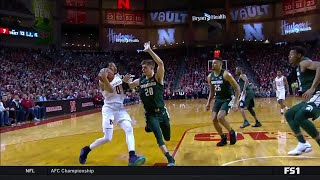 First Half Highlights: Michigan State at Nebraska | Big Ten Basketball