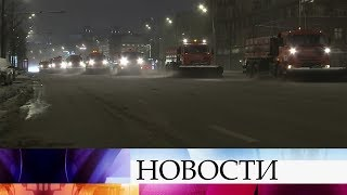 В Санкт-Петербурге готовятся к приходу сразу двух сильнейших снежных циклонов.