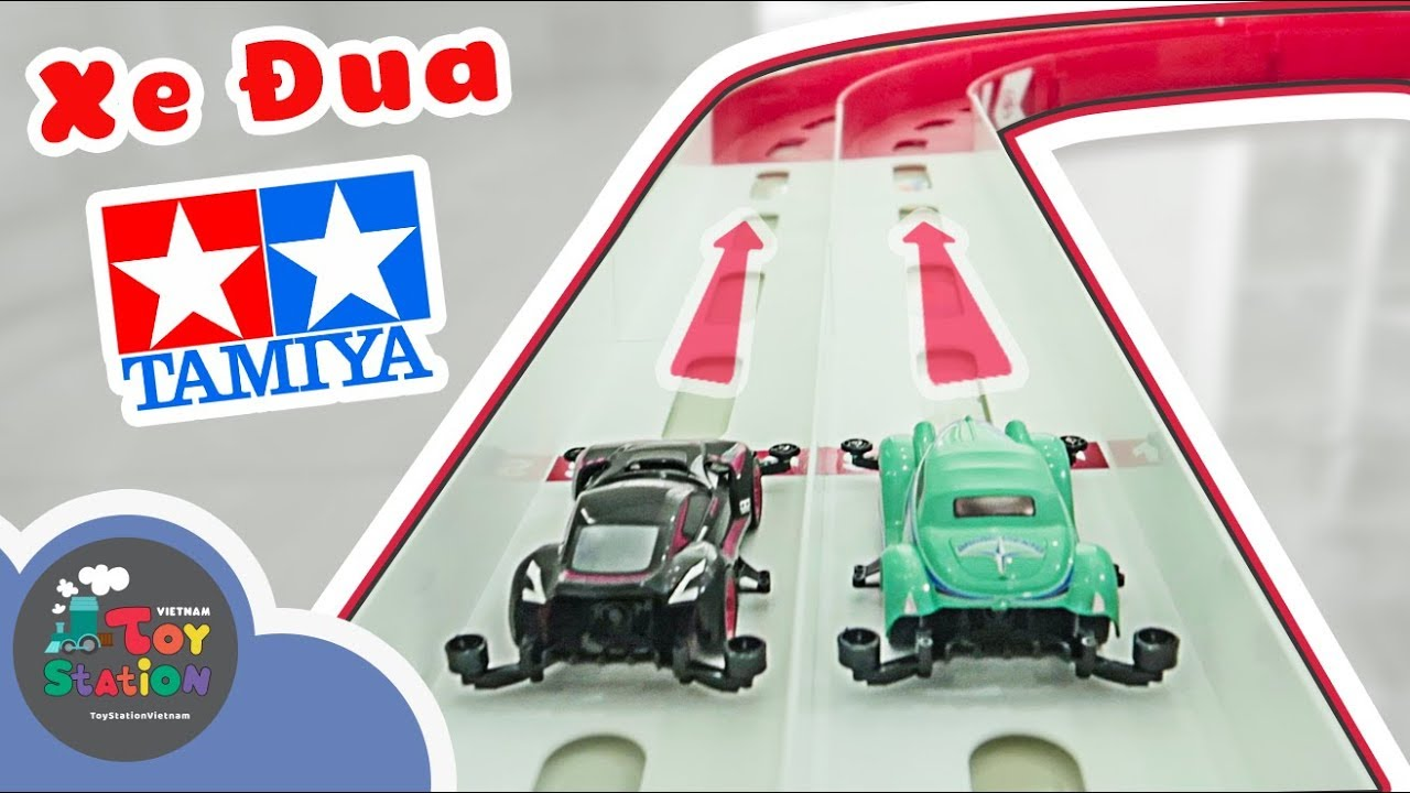 Xe đua lắp ráp Tamiya cực ngầu và chạy nhanh ToyStation 317
