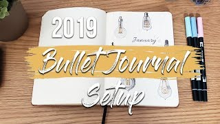 My 2019 Bullet Journal Setup | What Has Changed