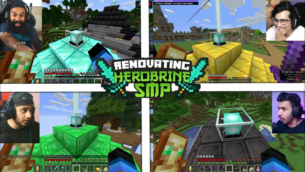 Gamers React On Superpowers Of Beacon In Herobrine Smp | Techno gamerz | Battle Factor