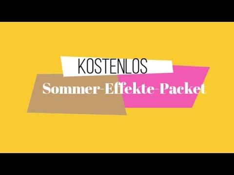 Kostenlose Effekte für Ihre Sommergeschichten-Filmora - YouTube
