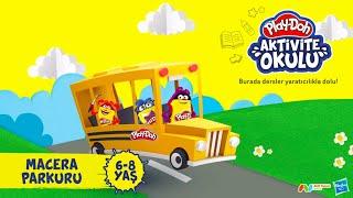 🏁🏁 Play-Doh Aktivite Okulu // Play-Doh ile Macera Parkuru 🏁🏁
