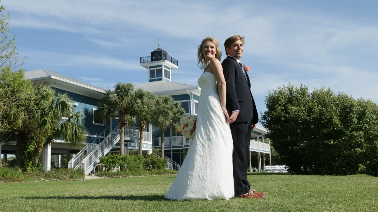 Tampa Bay Watch Wedding - YouTube