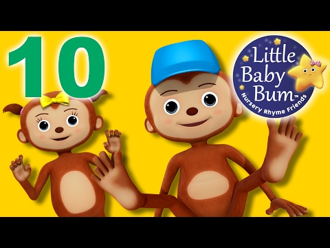 Ten Little Fingers and Toes  Nursery Rhymes   LittleBaBum!