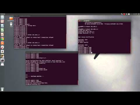 create jump sever to secure devices on your network using Ubuntu and a Cisco switch