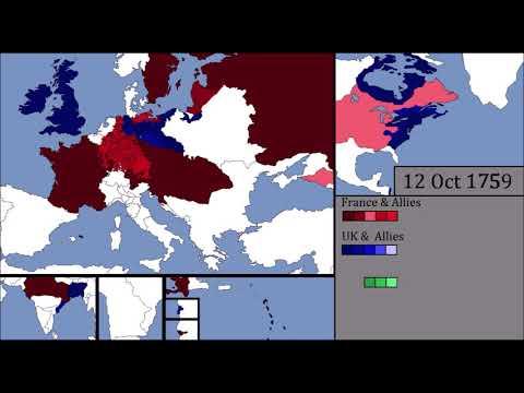 World War Zero/The Seven Years' War : Every few days