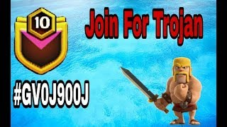 Join for trojan war 50 vs 50 ||Clash Of Clans||in hindi