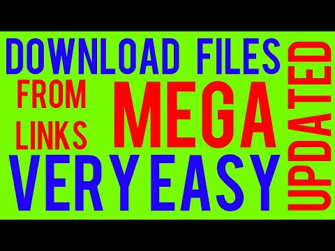 How to download files from MEGA links: Without using MEGA app: Very Easy