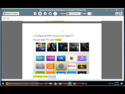 ExpressVPN Guide: Set Up MediaStreamer On Apple TV (4th Gen/ TvOS)