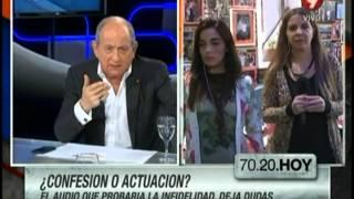 El audio que probaría la infidelidad de Santiago Bal a Carmen Barbieri deja dudas